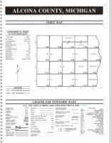 Index Map, Alcona County 1995